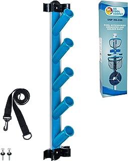 swimming pool equipment rack