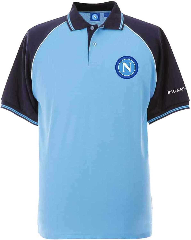 Serie A Taille adulte S /à 3XL Napoli Polo de football officiel SSC XL