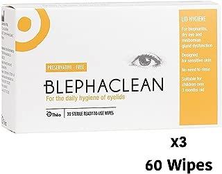 Blephaclean 60 Sterile Eyelid Wipes For Blepharitis Freepost