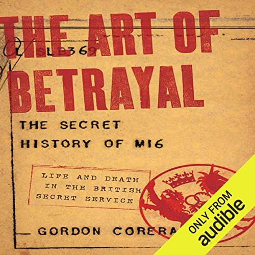 The Art of Betrayal audiobook cover art