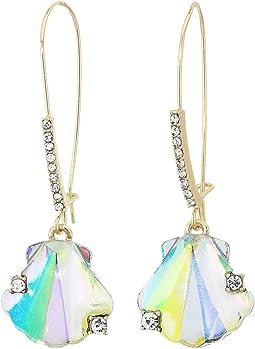 Shell Sheppard Hook Earrings