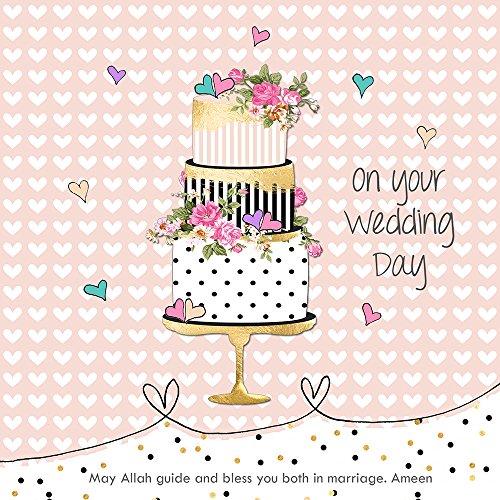 Auf Ihre Hochzeit Tag–Islamische Hochzeit Karte–3stöckig