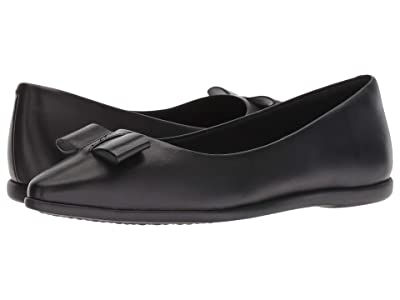 Cole Haan 3.Zerogrand Bow Skimmer (Black Leather) Women