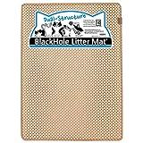 Blackhole Cat Litter Mat - Extra-Large Size Rectangular 36' X 25' - Blackhole Litter Mat (Beige)