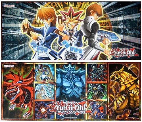 YU-GI-OH! Legendary Collection 1 Spielfeld / Spielbrett + Arkero-G® 50 Small Soft Sleeves Kartenhüllen Spielmatte / Playmat
