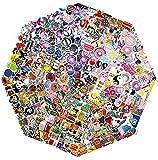 QWDDECO Sticker Set 360 pcs Vinyl Kawaii Sticker Aufkleber für Laptop, Gepäck, Skateboard, Phone, Fahrräder, Motorräder Sticker für Erwachsene, Teenager, Jungen und Mädchen
