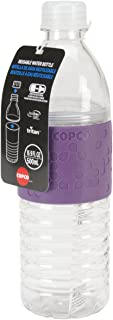 Wilton Copco 2510-2294 Hydra Reusable Tritan Water Bottle with Spill Resistant Lid and Non-Slip Sleeve, 16.9-Ounce, Purple