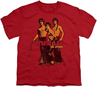 TeeShirtPalace Bruce Lee Stripes All Over Print T-Shirt