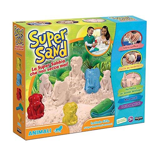 Super Sand The Box 232961 - Super sable animaux - Version Italienne