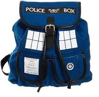 Doctor Who Dr. Blue Tardis Backpack (Dr. w-02)