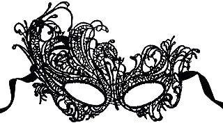 Ndier Máscara de Encaje Sexy máscara de Halloween para Masquerade Fiesta, Bodas, Mardi Gras, máscara de Carnaval Veneciano Anonimo y Dance, Estilo Fénix