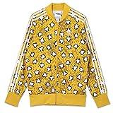 adidas Originals Jeremy Scott JS Bones TT M69820 - Chaqueta con esqueleto de hueso, color amarillo amarillo S