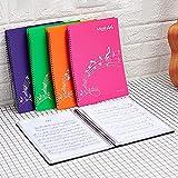 Jinchuan 楽譜ファイル 30ポケット 60ページ A4 書き込みオッケー 収納力抜群リングタイプ 楽譜ホルダー 演奏会 発表会 コンクール(30ポケット 60ページ,オレンジ)