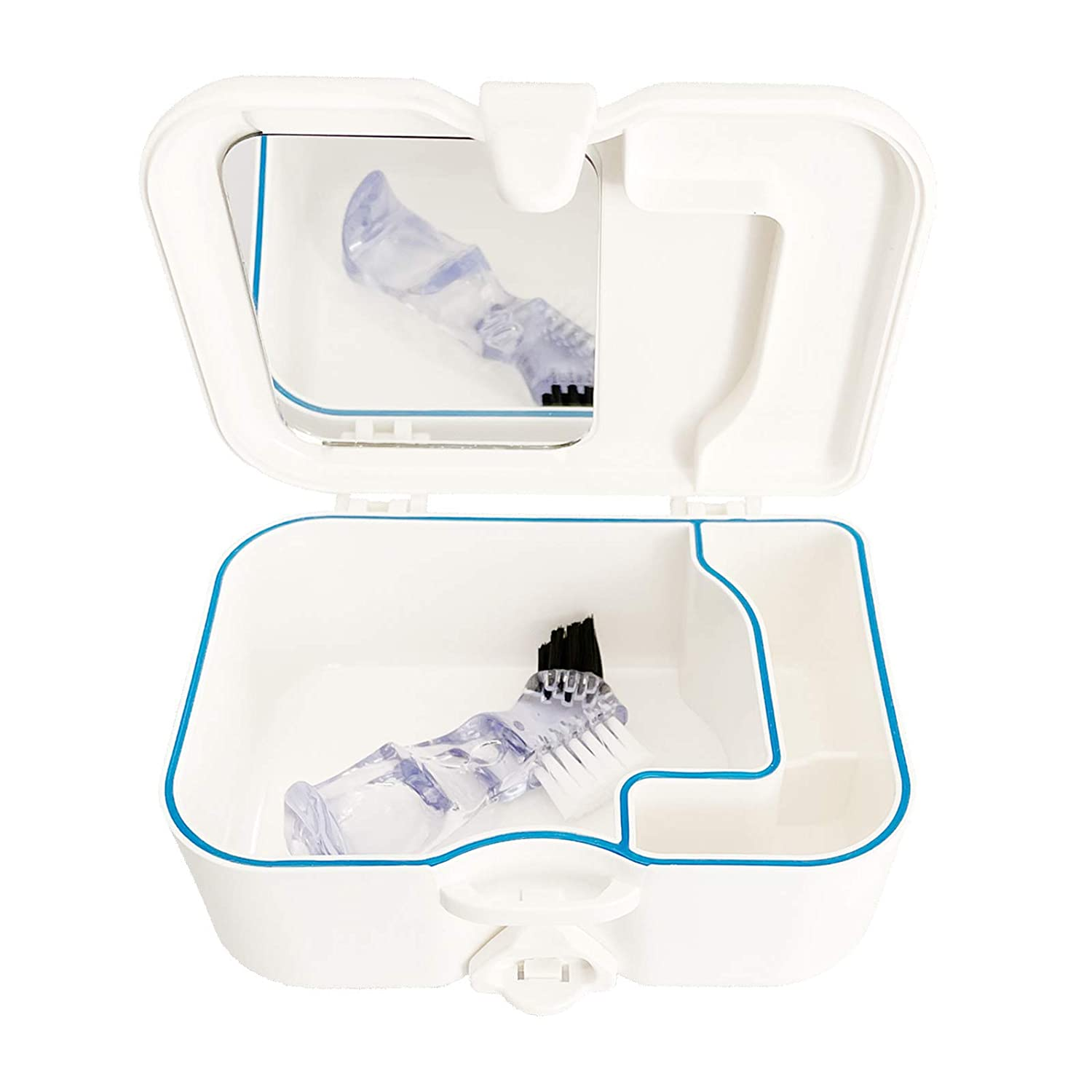 Ranking TOP13 Topics on TV FYZB Denture Travel Case with Built and in Mirror Brush,Sturdy