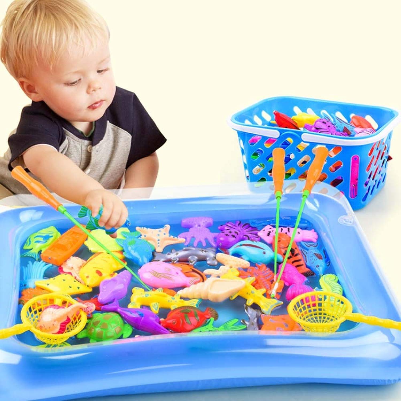 YBT 魚釣りゲーム 釣り遊び 磁気釣りおもちゃ 磁石 楽しい釣りカード 知育おもちゃ 親子プレイゲーム プール付き 屋内 出産祝い プレゼント 30個セット