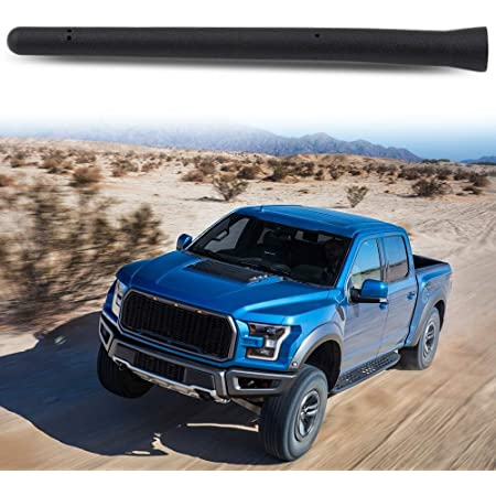Black 3.6 Inch AM FM Radio Short Antenna for Ford F-Series Fits ...