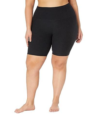 Beyond Yoga Plus Size Spacedye Team Pockets High-Waisted Biker Shorts