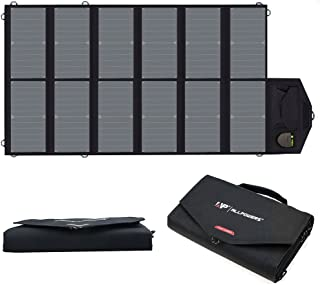 ALLPOWERS 80W Foldable Solar Panel SunPower Solar Charger with iSolar Technology for Laptop, Tablet, ipad,Smartphone, iPhone, Samsung, Acer, Asus, Dell, HP, Toshiba, Lenovo Notebooks, Laptops and More