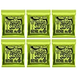 Jeu de cordes pour guitare électrique Ernie Ball Regular Slinky Nickel Wound, calibre 10-46