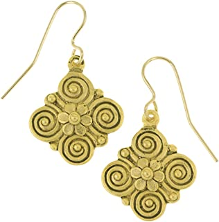 Sale - Museum Reproduction of the Egyptian Quatrefoil Earrings, From Our Museum Store