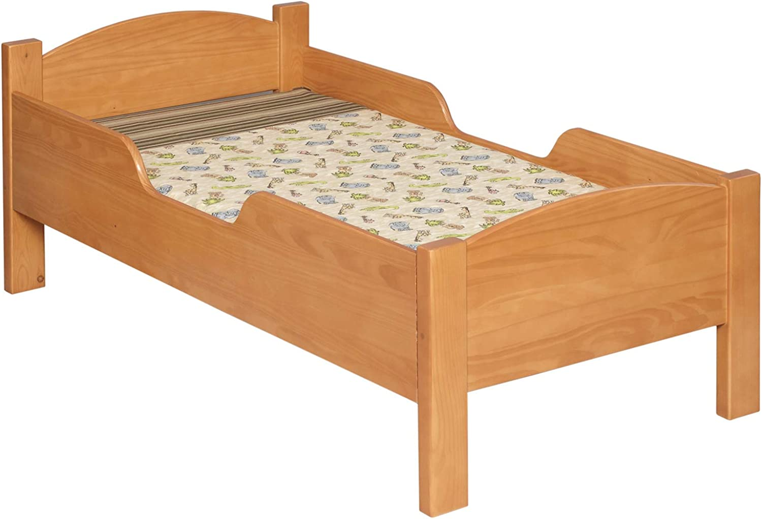 Little colorado 088ESPNC Traditional Toddler Bed, Espresso
