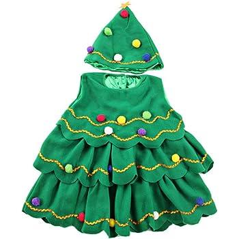 Disfraz de árbol de Navidad para Fiesta Festiva de Navidad para ...