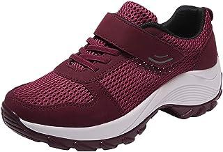 Calzado Deportivo para Mujer Resbalón Transpirable en Calzado para Caminar Use Zapatillas Deportivas Ligeras Resistentes