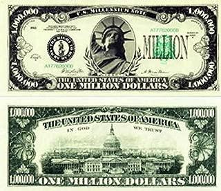 TheGag Million Dollar Bills (25 Bills)-That Look Real Educational Product Play Money