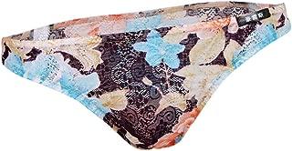 Baoblaze Men's Floral Briefs Underwear Low Rise Lingerie Bikini Underpants M-2XL