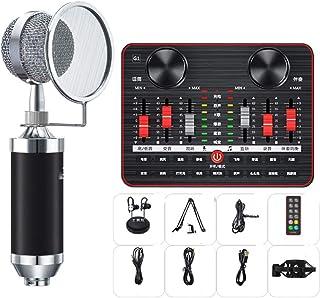 Juego De Convertidor De Voz De Tarjeta De Sonido, Juego De Tarjeta De Sonido 12 Tipos De Efectos De Sonido Micrófono De Al...