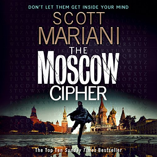 The Moscow Cipher audiobook cover art