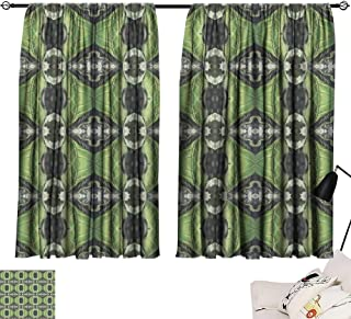 Hariiuet Linen Curtains Seamless Pattern with Vegetal Motives 11 84