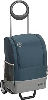 Vileda Gimi Family Thermo wózek na zakupy o pojemności 45 litrów, niebieski