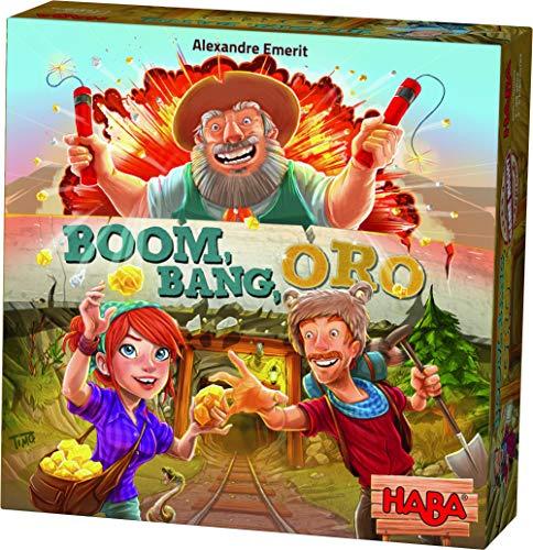 HABA- Boom, Bang, Oro - ESP, Multicolor (Habermass 304067)