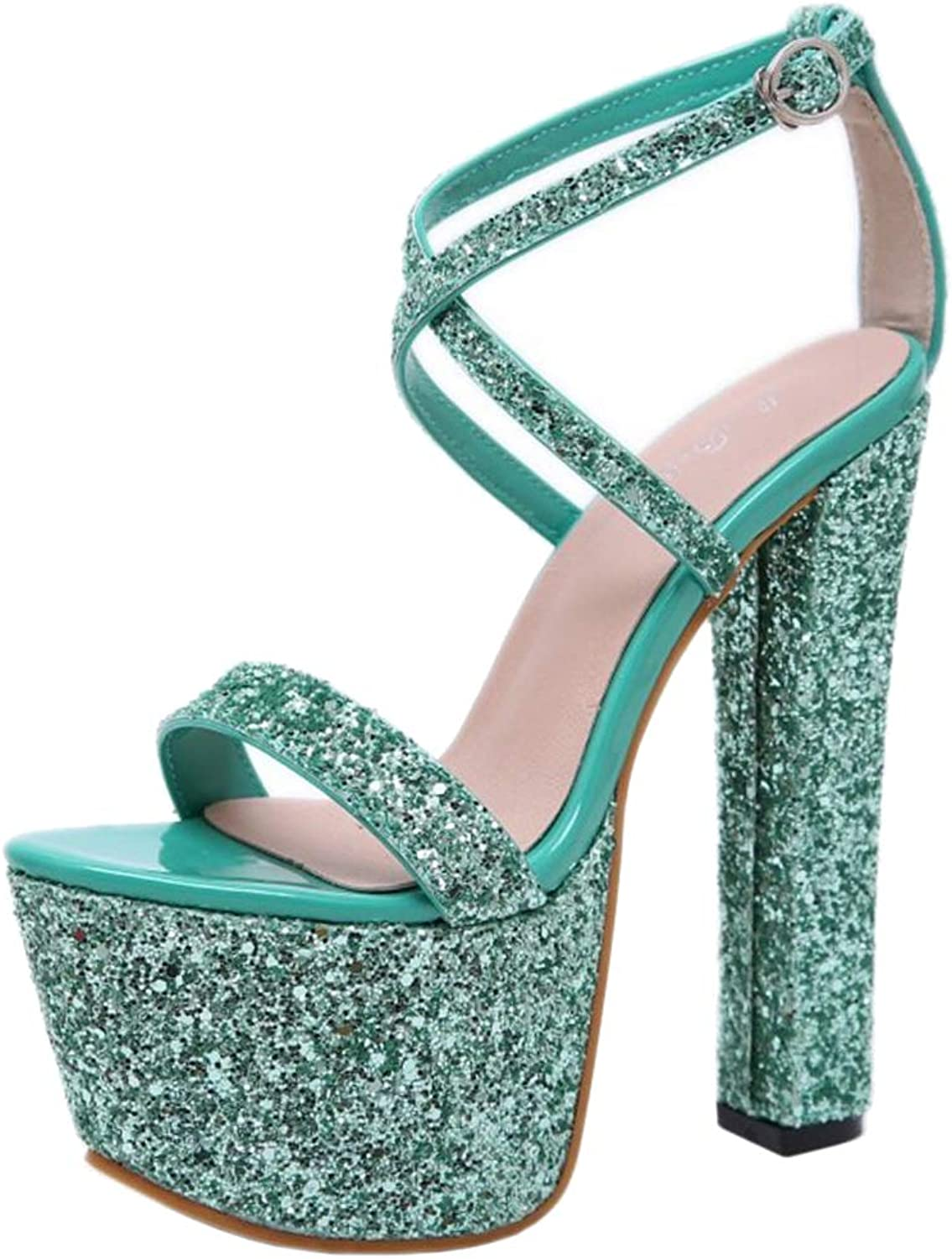 Lydee Women Fashion Sandals Evening Party shoes Platform