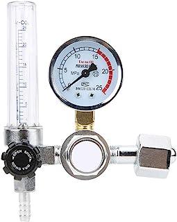 アルゴン CO2 レギュレータ 減圧器 ガス流量計 0.25MPa ガス フローメーター MIG TIG 溶接ゲージ減圧調整器 溶接作業用 溶接 安全 省エネ 合金 単段タイプ ネ YAR-88