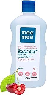 Mee Mee Gentle Baby Bubble Bath, Cherry Extracts, 500 ml