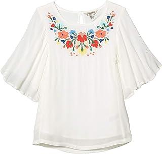 Lucky Brand Big Girls' Short Sleeve Fashion Top