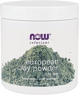 Now Foods European Clay Powder - 6 oz. 5 Pack
