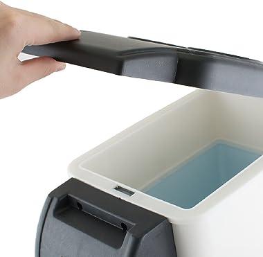 Tinsay 6L Portable Car Refrigerator Electric Cooler and Warmer Car Refrigerator Portable Mini Fridge-USA Shipping