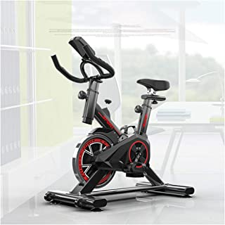 TXDWYF Spinning Bike, Peloton Bike, Fitness Cardio Home Cycling, Excersize Bike for Home Use, Aerobic Indoor Training Exercise Bike, 6kg Flywheel, with Pulse Monitor