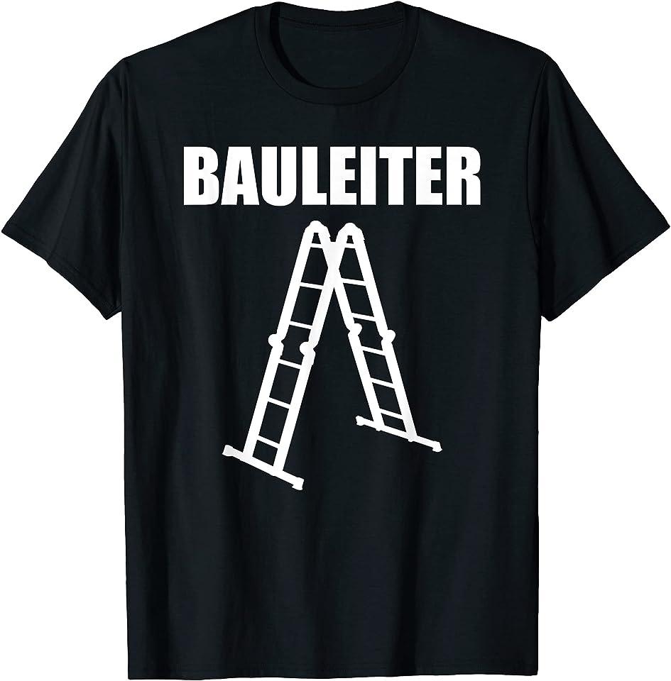 Bauleiter Geschenkidee Baustelle Baustellen T-Shirt