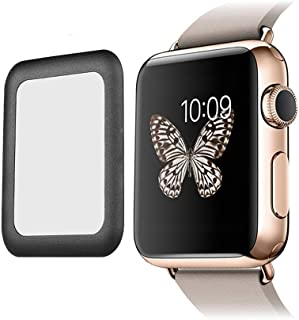 iWatch Screen Protector 40mm, 2pcs Full Coverage Tempered Glass Screen Protector 2.5D Curved Clear Display Screen Protecto...