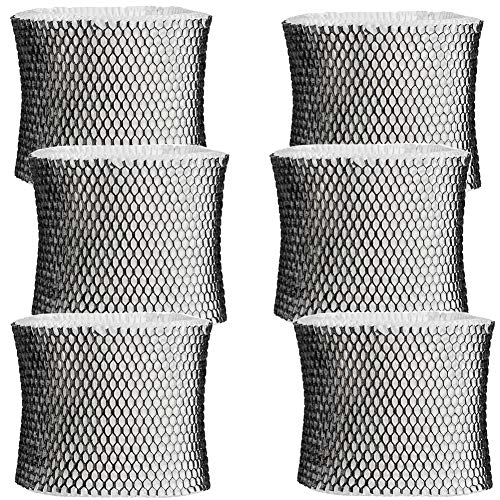 HIFROM Replace HWF64 Humidifier Filter Replacement for Holmes Sunbeam Bionaire Humidifier - Filter B, Replacement for HM1645, HM1730, HM1745, HM1746, HM1750, HM1761, HM2220, HM2200 (6pcs)