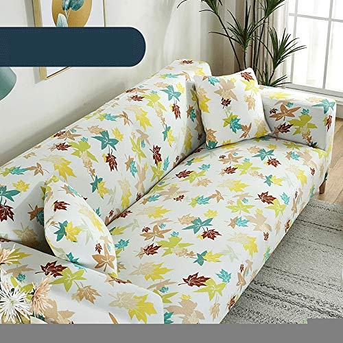 TiA Funda para Sofá De 1 2 3 4 Plazas Universal Antideslizante Elástica Extensible Fabric Protector Cubierta Cubre De Sofá Fundas para Muebles De Sofá (Multicolor)