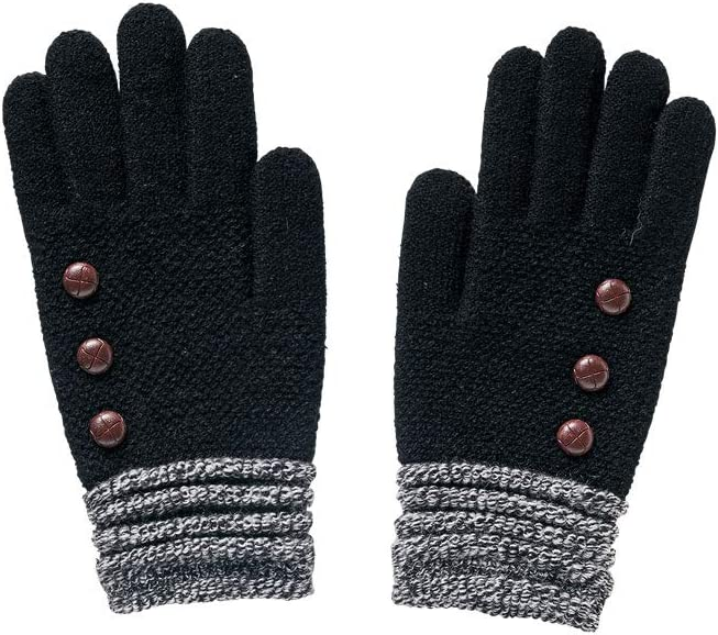 Britt's Knits Ultra-Soft Gloves, Black, One Size