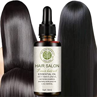 Hair Regrowth Serum-Hair Growth Essence Oil, Hair Growth Treatment, Stops Hair Loss, Thinning,Balding, Promotes Thicker, Fuller and Faster Growing Hair