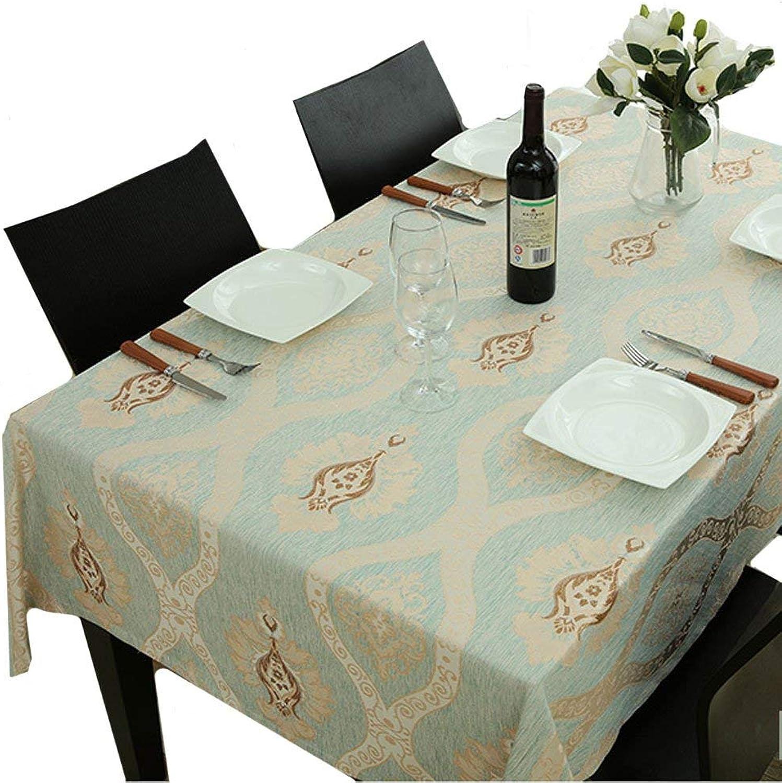 GWFVA Western Restaurant Nappe Table Basse Nappe rectangulaire Nappe voiturerée Nappe de Salon (Pattern  A, Taille  130  220cm)