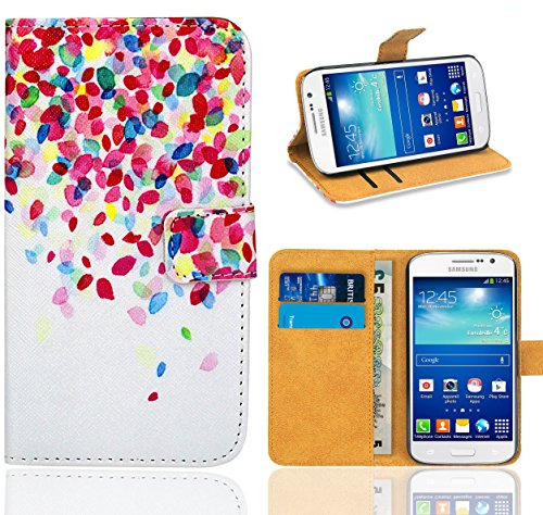 Samsung Galaxy Grand Neo / Grand Neo Plus Handy Tasche, FoneExpert® Wallet Hülle Flip Cover Hüllen Etui Ledertasche Lederhülle Premium Schutzhülle für Samsung Galaxy Grand Neo / Grand Neo Plus (Pattern 1)