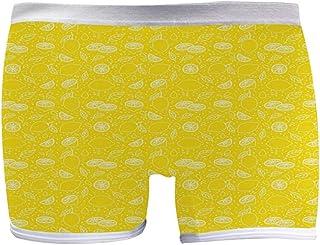 INTERESTPRINT Boxer Briefs Mens Underwear Parrot Watercolor Design Painting XS-3XL